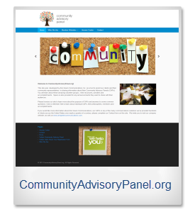 community advisory panel 1